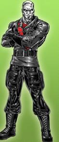 Destro character from GI Joe (property of Hasbro).