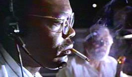 Samuel Jackson in Jurassic Park.