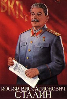 Stalin poster.