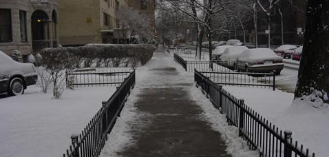 Barry Avenue on January 5, 2005.