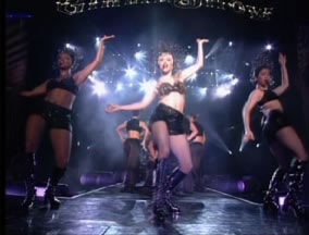 Madonna and company from The Girly Tour.