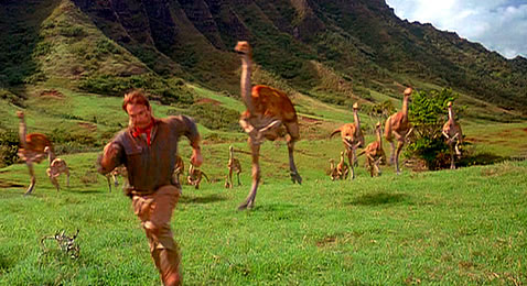 Still from Jurassic Park.