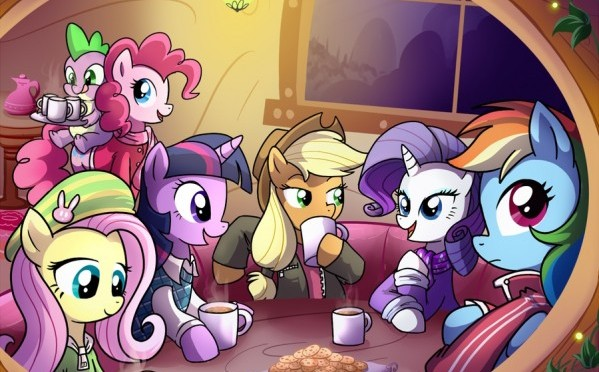 Cocoa-With-the-Elements-my-little-pony-friendship-is-magic-27757523-599-466