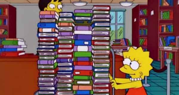 lisa-simpson-reading-books